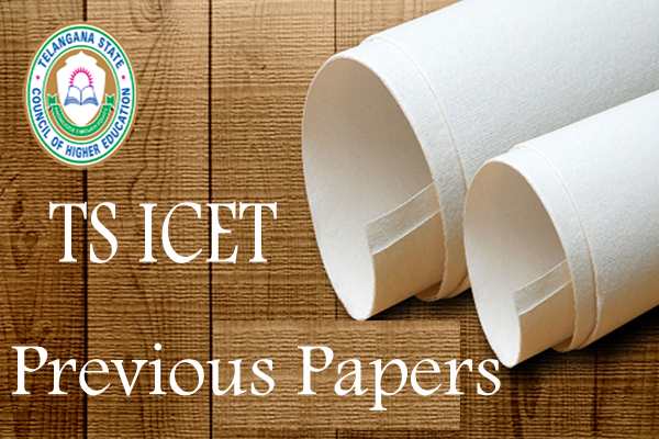 TS ICET Old Papers